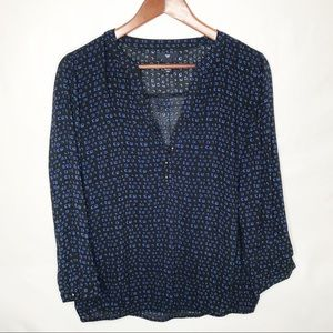 Gap long sleeved blouse